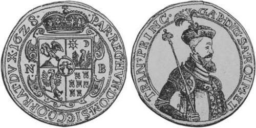 10 Ducat Principality of Transylvania (1571-1711) Oro Gabriel Bethlen, Príncipe de Transilvania (1580-1629)