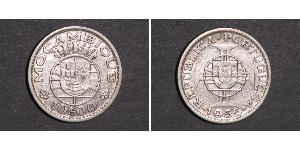 10 Escudo Mozambique Argent