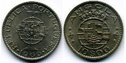 10 Escudo Portuguese Angola (1575-1975) / Portugal Copper/Nickel