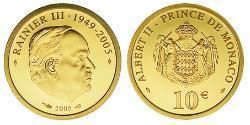 10 Euro Monaco 金