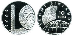 10 Euro 芬兰 銀