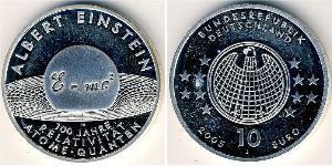 10 Euro Allemagne (1990 - ) Argent