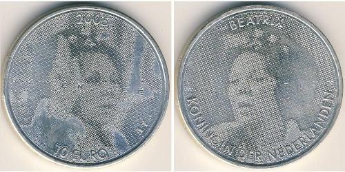 10 Euro Regno dei Paesi Bassi (1815 - ) Argento