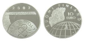 10 Euro Finlandia (1917 - ) Plata