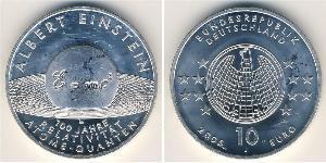 10 Euro Bundesrepublik Deutschland  (1990 - ) Silber