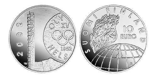 10 Euro Finnland (1917 - ) Silber