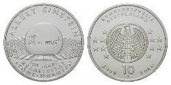 10 Euro Federal Republic of Germany (1990 - ) Silver
