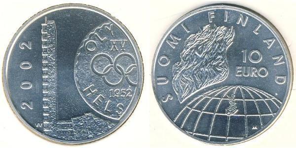10 Euro Finland (1917 - ) Silver