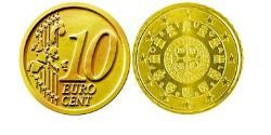 10 Eurocent Portuguese Republic (1975 - ) Tin/Aluminium/Copper/Zinc