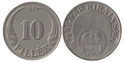 10 Filler Hungary (1989 - ) Copper/Nickel