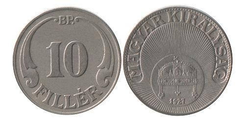 10 Filler Hungary (1989 - ) Copper/Nickel