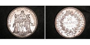 10 Franc Cinquième République (1958 - ) Argent