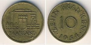 10 Franc  Bronce