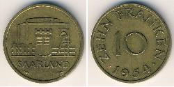 10 Franc  Bronze