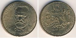 10 Franc French Fifth Republic (1958 - ) Bronze/Nickel