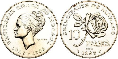 10 Franc Monaco Cuivre/Nickel