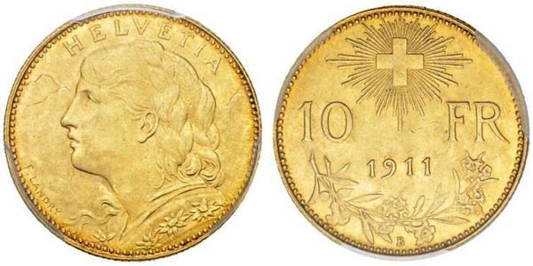 10 Franc Suisse Or