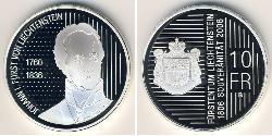 10 Franc Liechtenstein Silver