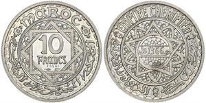 10 Franc Morocco
