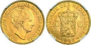 10 Gulden 荷兰王国 金 威廉明娜 (荷兰)