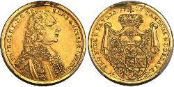 10 Gulden Prince-Bishopric of Bamberg (1245–1802) Gold