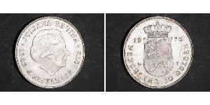 10 Gulden Netherlands Silver Juliana of the Netherlands (1909 – 2004)