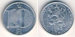 10 Heller Checoslovaquia  (1918-1992) Aluminio