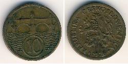 10 Heller Czechoslovakia (1918-1992) Bronze