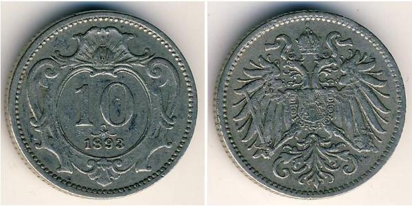 10 Heller Austria-Hungary (1867-1918) Copper/Nickel