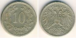 10 Heller Austria-Hungary (1867-1918) Copper/Nickel/Zinc Franz Joseph I (1830 - 1916)