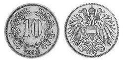 10 Heller Austria-Hungary (1867-1918) Copper/Nickel/Zinc