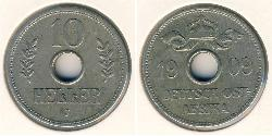 10 Heller German East Africa (1885-1919)