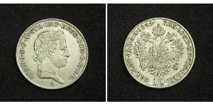 10 Kreuzer 奧地利帝國 (1804 - 1867) 銀