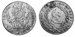 10 Kreuzer Electorate of Bavaria (1623 - 1806) 銀 Maximilian III Joseph, Elector of Bavaria (1727 – 1777)