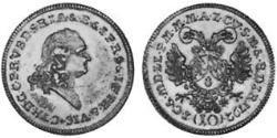 10 Kreuzer Electorate of Bavaria (1623 - 1806) Silver