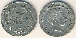 10 Kreuzer Grand Duchy of Baden (1806-1918) / States of Germany Silver Louis I, Grand Duke of Baden (1763 - 1830)
