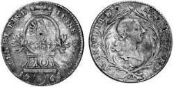 10 Kreuzer Principality of Ansbach (1398–1792) Silver Charles Alexander, Margrave of Brandenburg-Ansbach (1736 – 1806)