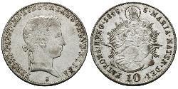 10 Kreuzer Königreich Ungarn (1000-1918)  Ferdinand I of Austria (1793 - 1875)