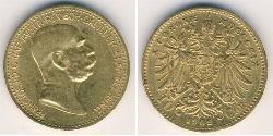 10 Krone Austria  Gold
