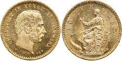 10 Krone Denmark Gold Christian IX of Denmark (1818-1906)