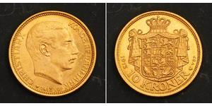 10 Krone Denmark Gold Christian X of Denmark (1870 - 1947)