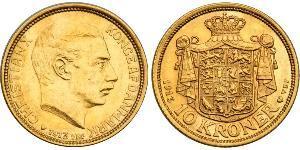 10 Krone Denmark Gold Christian X of Denmark (1870 - 1947)