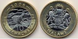 10 Kwacha Malawi Bimetall