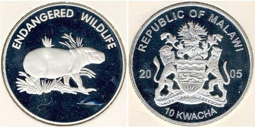 10 Kwacha Malawi Silver