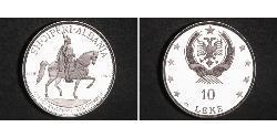 10 Lek Sozialistische Volksrepublik Albanien (1944 - 1992) Silber