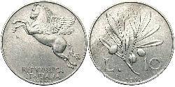 10 Lira 意大利 铝