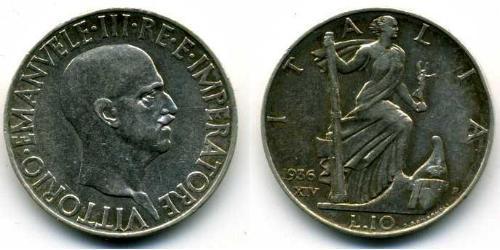 10 Lira Kingdom of Italy (1861-1946) Argent