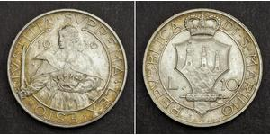 10 Lira San Marino Argento