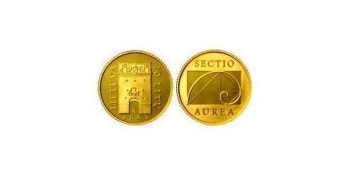 10 Litas Lituania (1991 - ) Oro