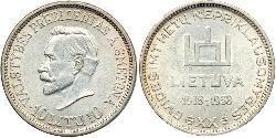10 Litas Litauen (1991 - ) Silber